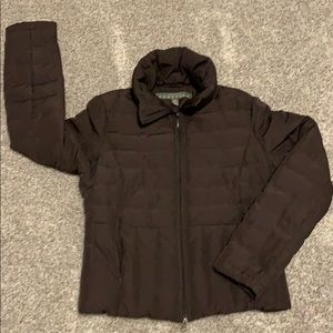 Kenneth Cole Chocolate brown quilted jacket☃️❄️